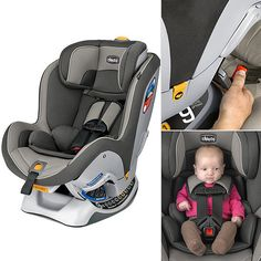 Chicco NextFit Convertible Car Seat  - it's sooooo easy to install!