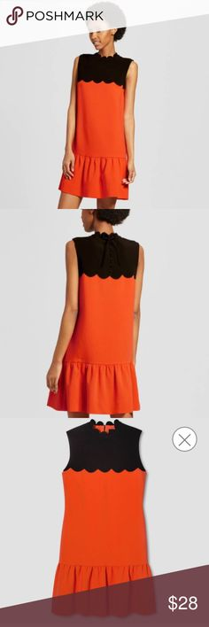 Scallop Trim Dress Victoria Beckham for Target. Excellent Quality! Bundle for 20% off Target Clearance Prices! Victoria Beckham Dresses