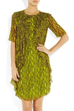 Matthew Williamson   Embellished printed silk-chiffon dress   NET-A-PORTER.COM