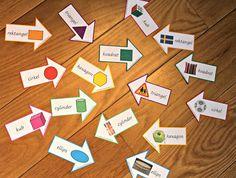 Min blogg om allt mellan himmel och jord: Montessorimaterial formpilar