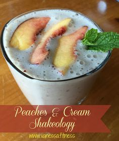 Delicious!! Tastes like peaches and cream milkshake! Gluten free, soy free, no artificial anything!!