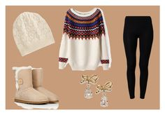 """""""Untitled #88"""" by olga05 ❤ liked on Polyvore featuring American Vintage, UGG Australia, Brora and Kate Spade"""