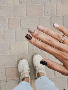 Minimalist Nails, Ten Nails, Semi Permanente, Vernis Semi Permanent, Oval Nails, Nagel Gel, Cute Acrylic Nails, Perfect Nails, Cool Nail Art