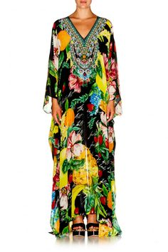 9cbb0cd74b Camilla Call Me Carmen Slit Front   Sleeve Kaftan find it and other fashion  trends. Online shopping for Camilla clothing.