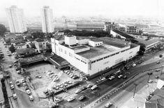 Imagem aérea da loja Sears da Água Branca, 1988  // André Douek/ Estadão