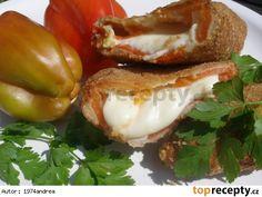 Smažák v paprice Feta, Bagel, Baked Potato, Potatoes, Stuffed Peppers, Bread, Baking, Vegetables, Ethnic Recipes