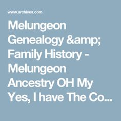 Melungeon Genealogy & Family History - Melungeon Ancestry  OH My Yes,  I have The Collins, Gibson and Sexton in my Roots and Branches!!