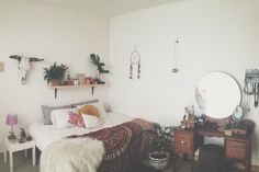 Throw some paint on those walls and this would be complete coziness