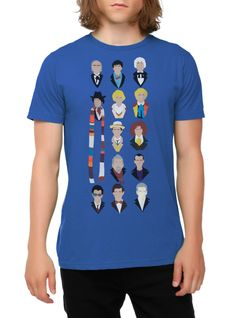 Doctor Who 13 Doctors T-Shirt | $10