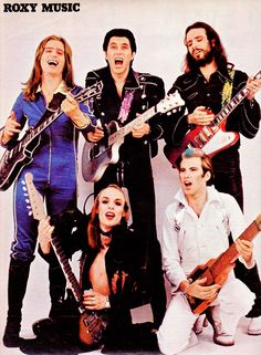 See Roxy Music pictures, photo shoots, and listen online to the latest music. Music Pics, Music Pictures, Music Photo, Glam Rock Bands, Rock & Pop, Rock And Roll, Sound Of Music, Music Is Life, Bands