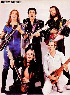 Roxy MusicMusik Express poster (Nr. 6 – June 1973)