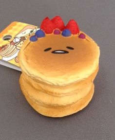 squishy ☆ Gudetama (pancake) Gudetama-squeeze I can not handle this it is awesome! Silly Squishies, Balle Anti Stress, Lazy Egg, Slime And Squishy, Kawaii Plush, Stress Toys, Cute Toys, Fidget Toys, Sanrio