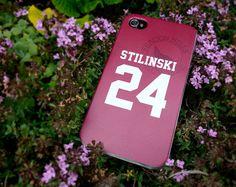 Teen Wolf Stiles STILINSKI lacrosse jersey iPhone 5 Case || blacksheepcases.com