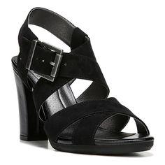 LifeStride Nicely Women's Dress Sandals, Size: medium (11), Black
