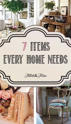TIDBITS & TWINE: 7 Decor Items Your Home Can't Live Without