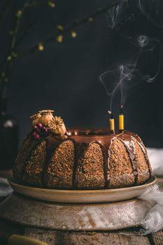 Maková bábovka Butter Dish, Tea Time, Gluten Free, Dishes, Baking, Cake, Sweet, Recipes, Fitness