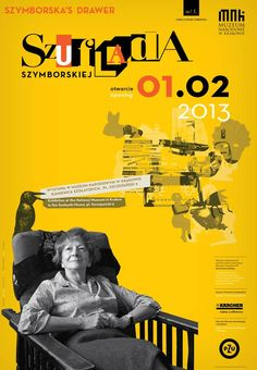 Szuflada Szymbroskiej // Szymborska's Drawer  TIME: 1.02.2013 - 31.01.2016  PLACE: PLACE: Kamienica Szołayskich im. Feliksa Jasieńskiego // The Feliks Jasieński Szołayski House, pl. Szczepański 9   #Szymborska #poezja #nagroddanobla #Nobel #nobelprize #wystawa #ehxibition #poetry #muzeum #museum #memories