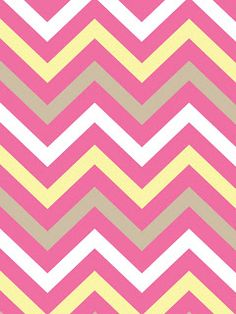 Make it...Create--Printables & Backgrounds/Wallpapers: Chevron....Summery Pink Yellow & Sand