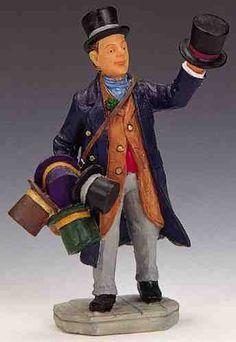 lemax Top Hat Peddler - Google Search