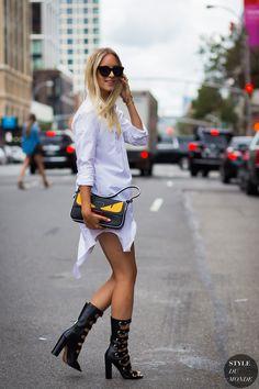 New York Fashion Week SS 2016 Street Style: Charlotte Groeneveld