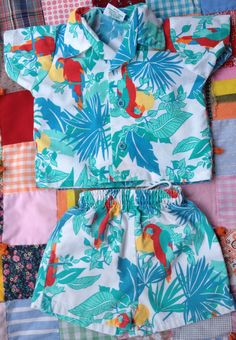 Your place to buy and sell all things handmade Tiki Dress, Vintage Baby Clothes, Welcome To The Jungle, Stella Jean, 18th, My Style, How To Wear, Handmade, Stuff To Buy