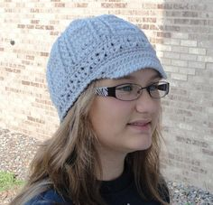 Front Post Double Crochet Beanie pattern @craftsy