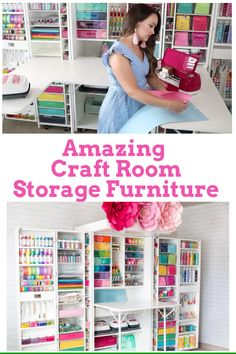Organization Ideas videos The Most Amazing Craft Room Organizer! Create a perfectly organized craft room with the DreamBox organizer from the Orginial Scrapbox. Organize crafts, sewing, Cricut supplies, paint and so much more! Craft Room Storage, Pegboard Craft Room, Kitchen Pegboard, Pegboard Display, Pegboard Garage, Ikea Pegboard, Painted Pegboard, Garage Tool Storage, Garage Tools