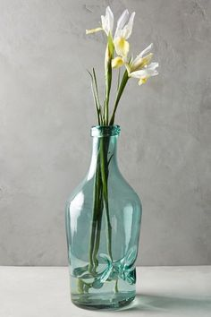 Pinched Glass Vase - anthropologie.eu