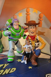 Buzz Lightyear and Wood Meet and Greet at Hollywood Studios