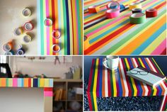 How to Make imaginative color table to the household