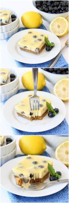 Lemon Blueberry Bars Recipe, These bars are easy to make and everyone always begs for the recipe!