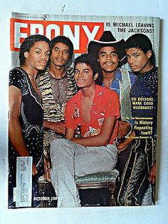Ebony Magazine October 1981 Issue Michael Jackson vs JACKSON5 Cover Story | eBay