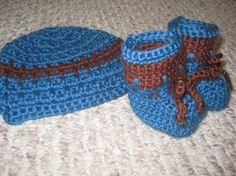 Come check out these adorable booties and hat! Pattern included!!!