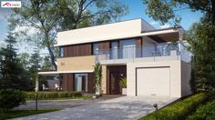 Zx63 NF40 to wyjątkowy dom z kategorii projekty domów jednorodzinnych