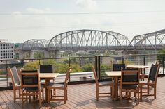 "135 Patios in Nashville: The Ultimate Restaurant Patio Guide  It's hard to beat this rooftop patio view at ACME! Part of the ""Best Patios in Nashville"" list on StyleBlueprint.com"