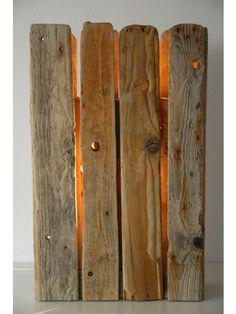 Treibholz-Tischleuchte, manunatura GAPS Treibholztischleuchte, Recyclingdesign, Wohnaccessoires aus Treibholz