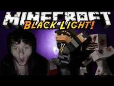 Minecraft Horror Game : BLACK LIGHT!