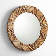 Haverford Mirror design by Cyan Design