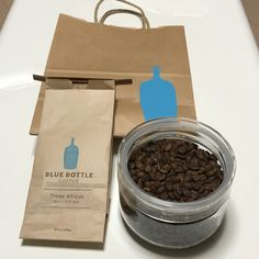 #新宿newman #BLUE BOTTLE COFFE #Three Africas