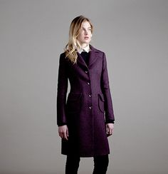 Clifford coat jacket from Katherine Hooker London