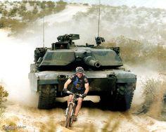 Biker, abraham tank - Worth1000 Contests