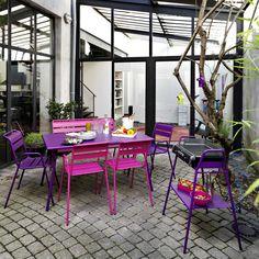 Aménagement extérieur jardin et terrasse : mobilier en teck ...