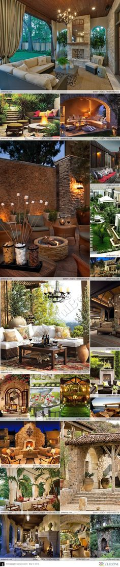 OUTDOOR PATIO with fireplace Get Qualified contractors use our free Service http://Contractors4you.com Also free leads for contractors