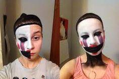 Fnaf/marionette makeup