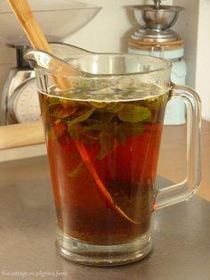 Cottage Life on Pilgrim's Farm: Anise Hyssop Tea...