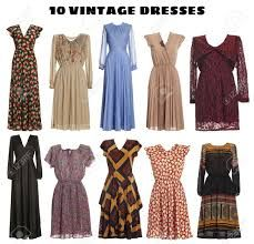 Afbeeldingsresultaat voor vintage kleding