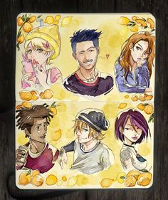 Watched this show recently and the nostalgia hit me xD.: 6Teen