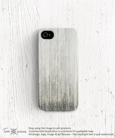 Wood iPhone 4s case White wood iPhone 5c case wood by TonCase, $23.99