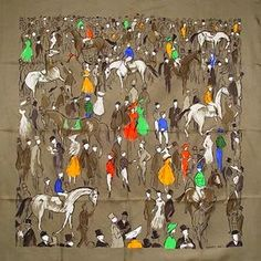 Horse Country Chic: Hermes Paddock Scarf