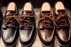 Oak Street Bootmakers - Handcrafted in Maine.